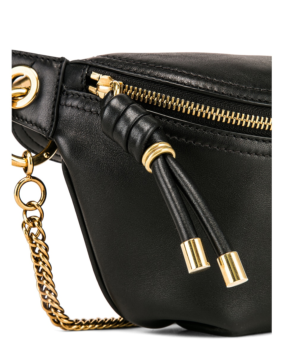 Image 7 of Givenchy Whip Chain Belt Bag in Black