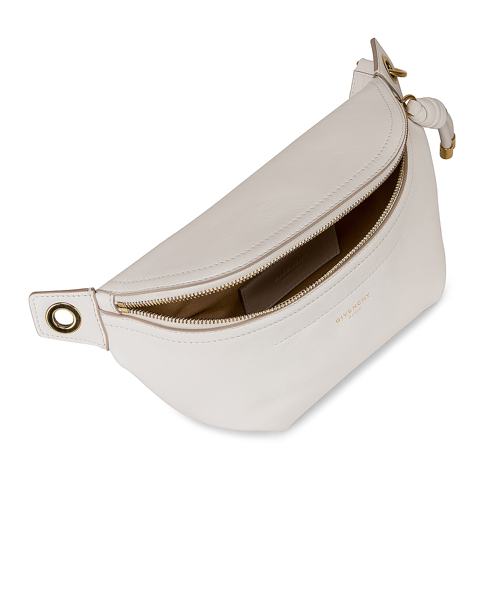 Image 5 of Givenchy Whip Chain Belt Bag in Off White