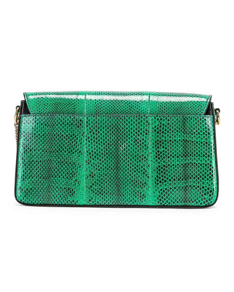 Image 3 of Givenchy Small Charm Shoulder Bag in Green