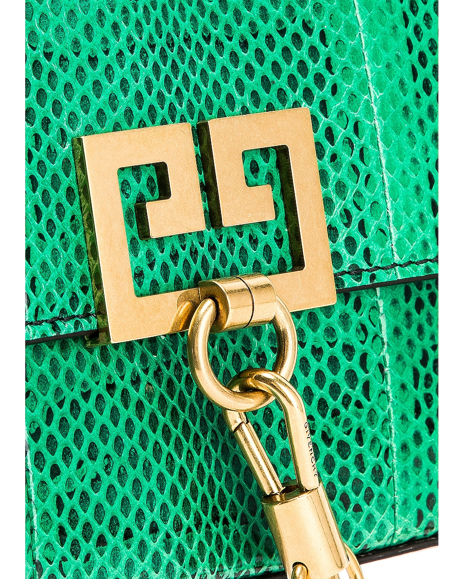 Image 8 of Givenchy Small Charm Shoulder Bag in Green