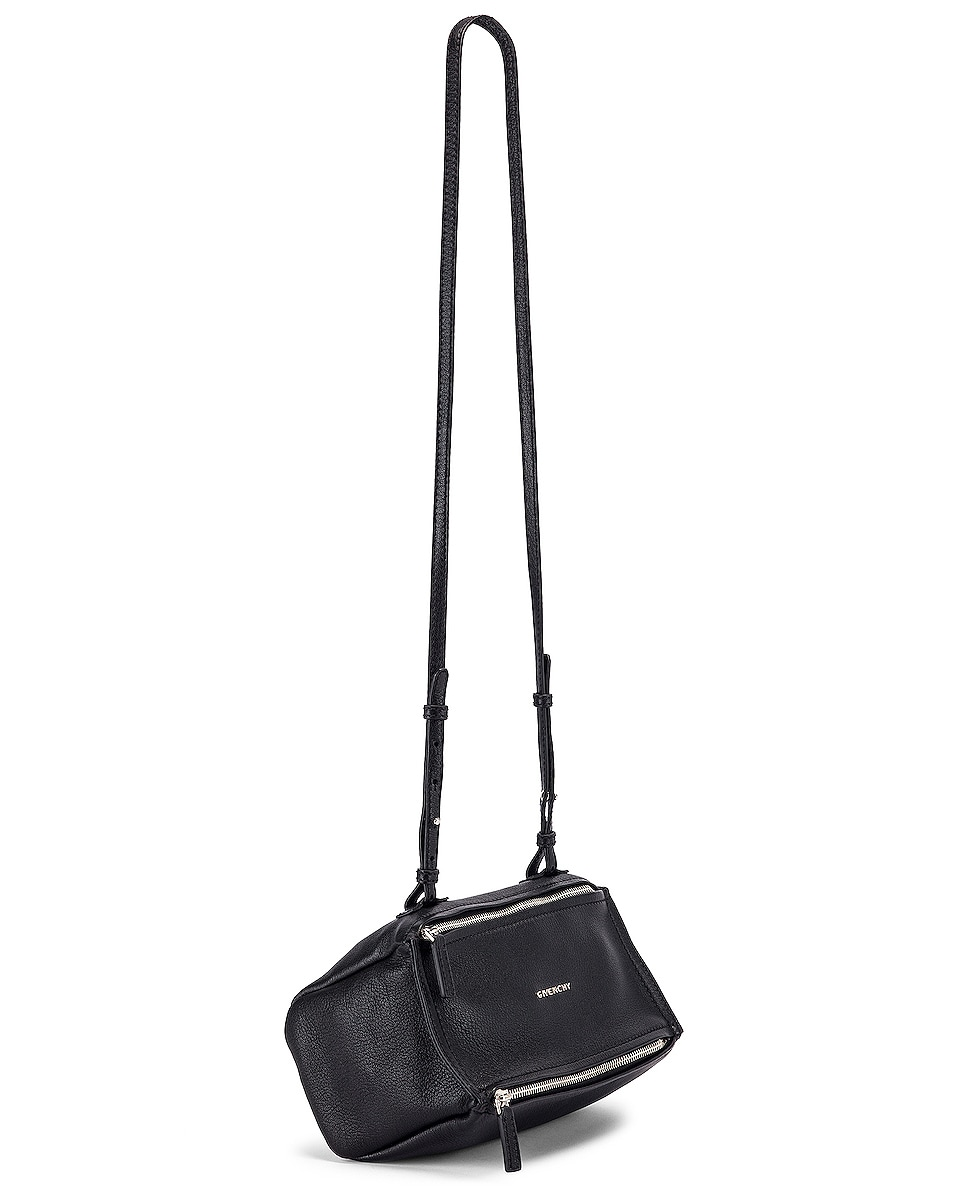 Image 1 of Givenchy Mini Sugar Pandora in Black