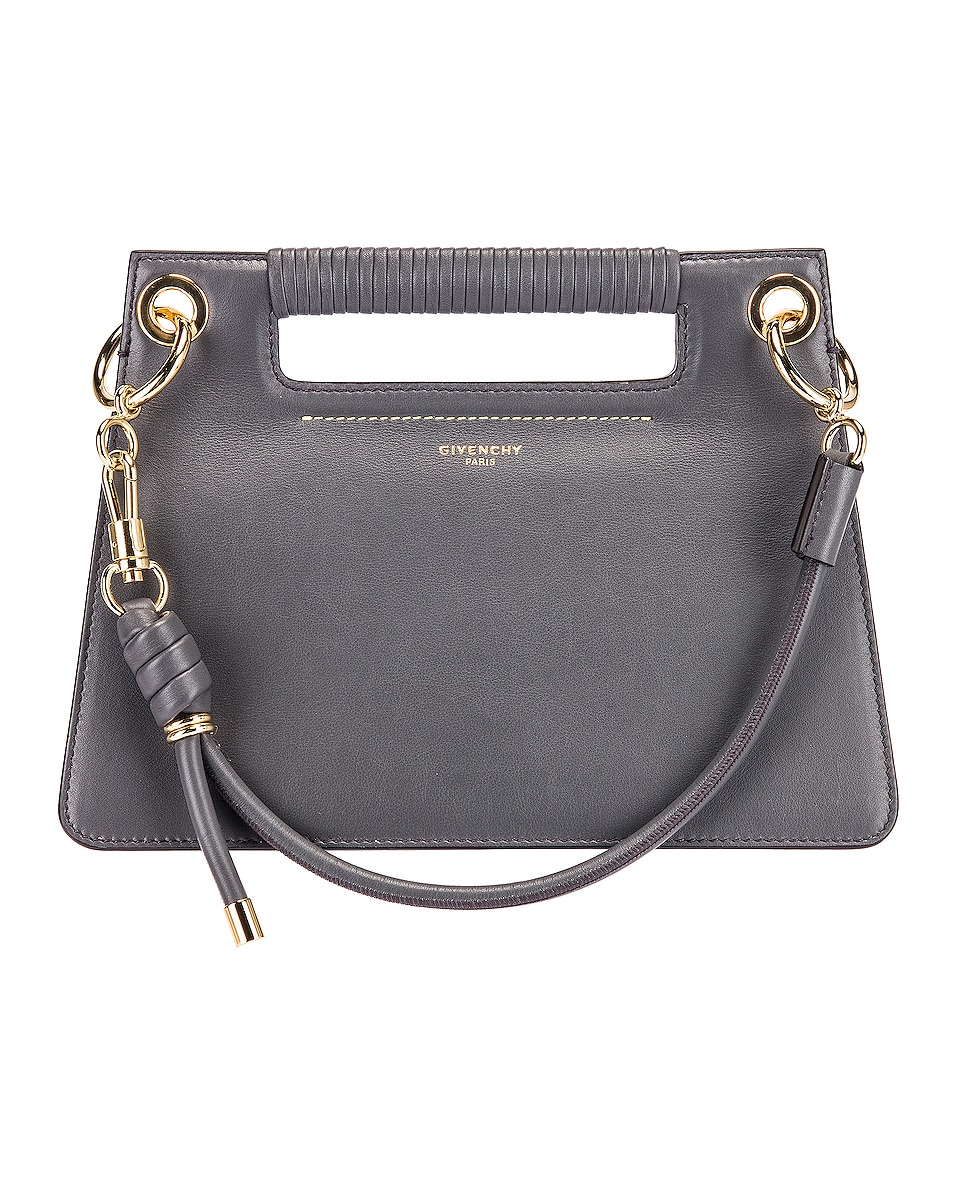 Image 1 of Givenchy Contrast Small Whip Bag in Storm Grey