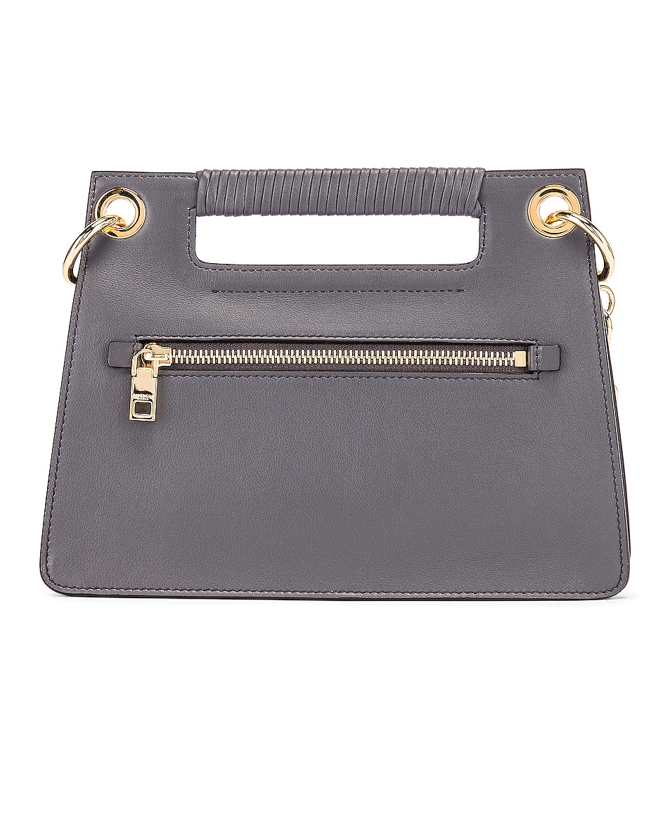 Image 3 of Givenchy Contrast Small Whip Bag in Storm Grey