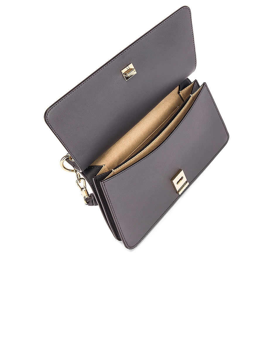 Image 5 of Givenchy Contrast Small Whip Bag in Storm Grey