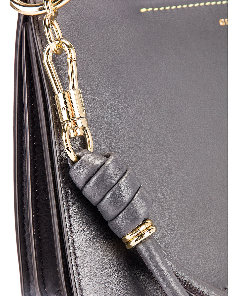 Image 8 of Givenchy Contrast Small Whip Bag in Storm Grey