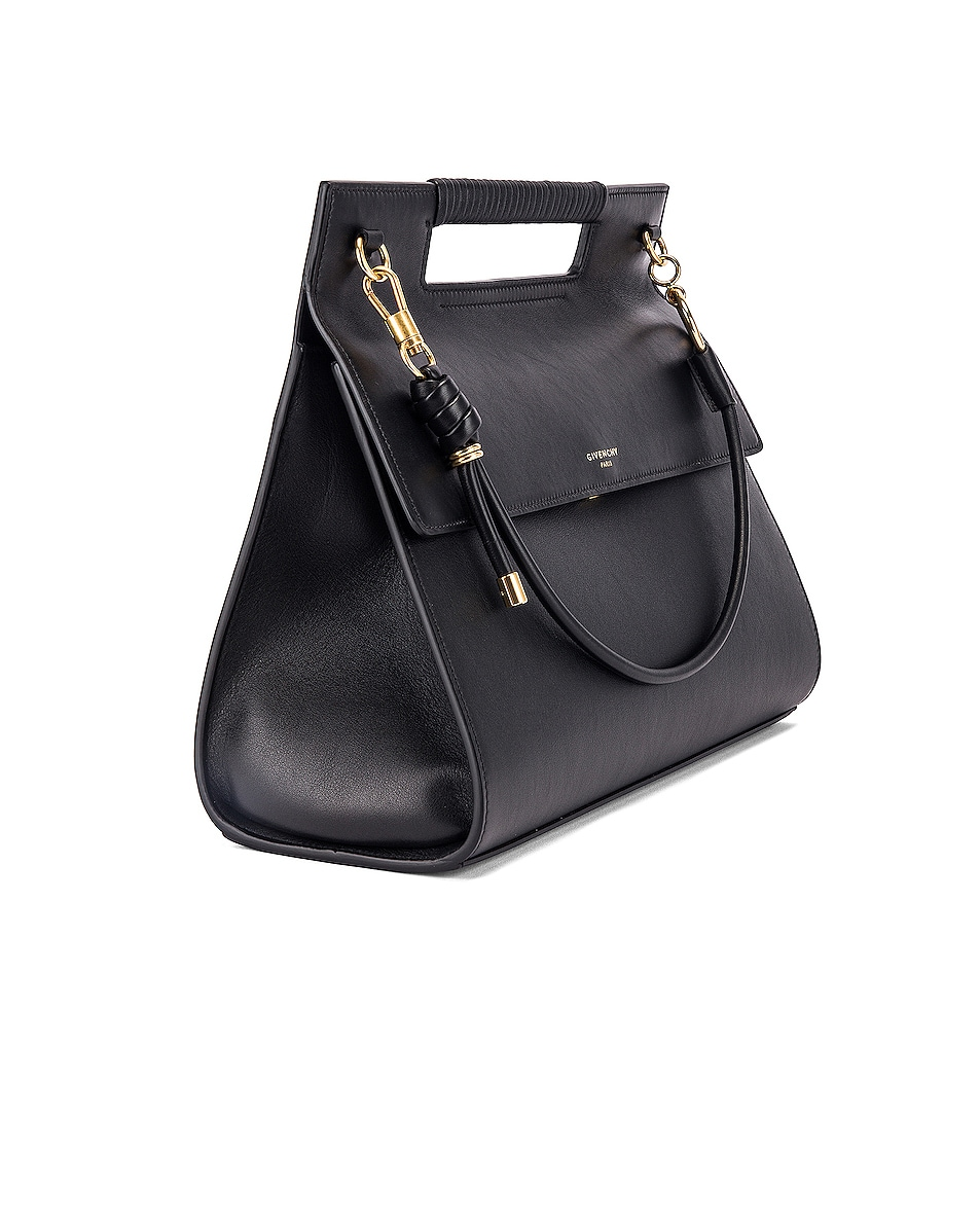 Image 4 of Givenchy Large Whip Bag in Black