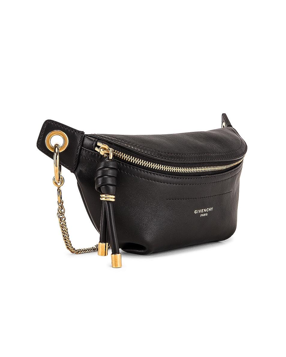 Image 4 of Givenchy Mini Whip Belt Bag in Black