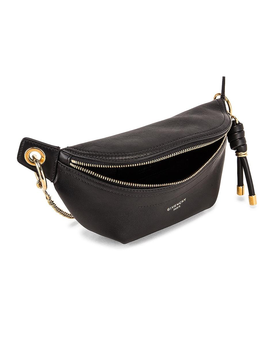 Image 5 of Givenchy Mini Whip Belt Bag in Black
