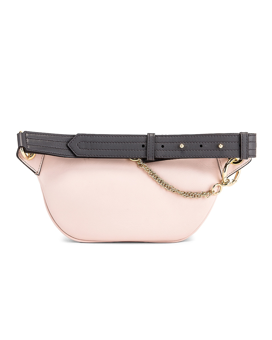 Image 3 of Givenchy Contrast Mini Whip Belt Bag in Pale Pink