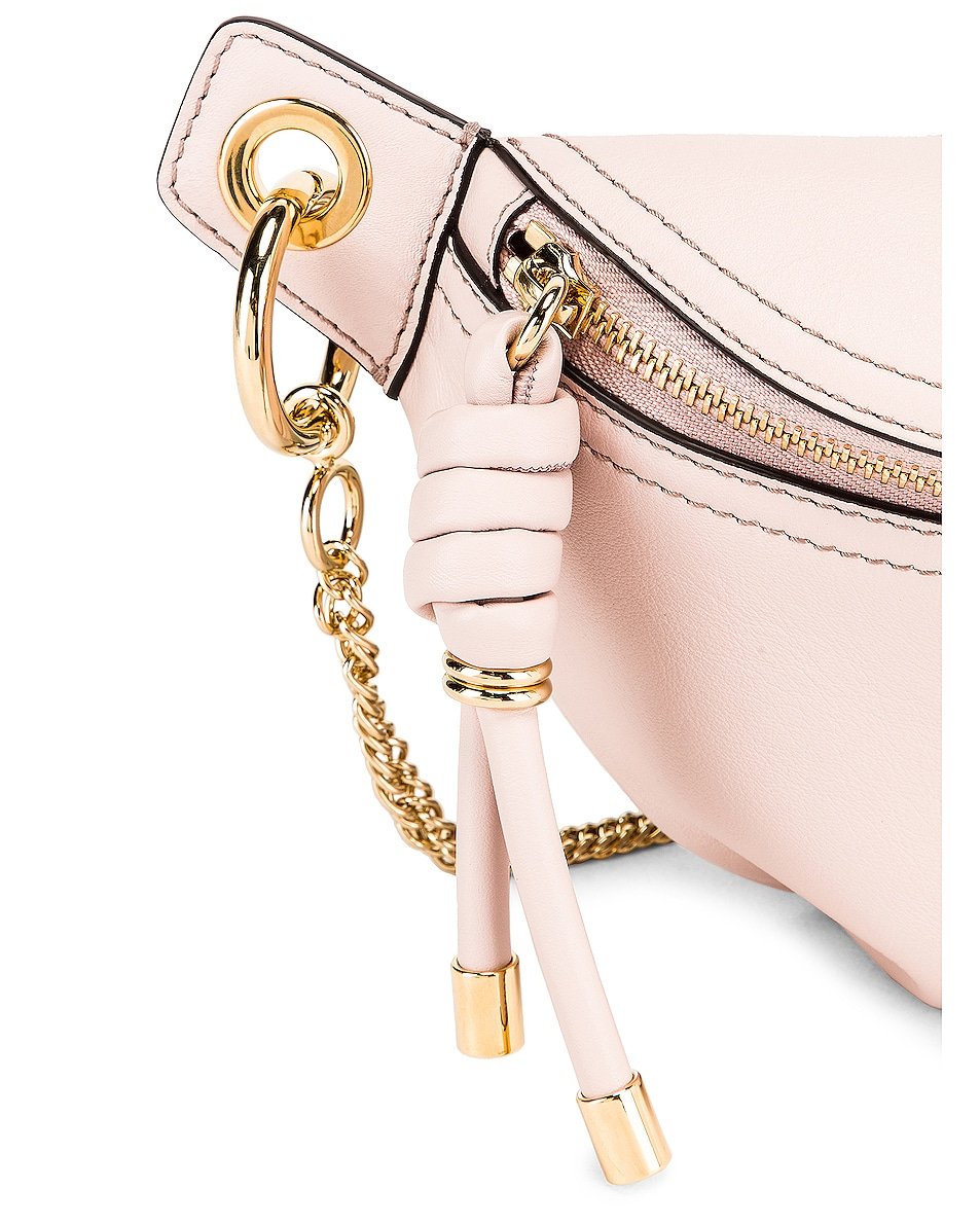 Image 7 of Givenchy Contrast Mini Whip Belt Bag in Pale Pink