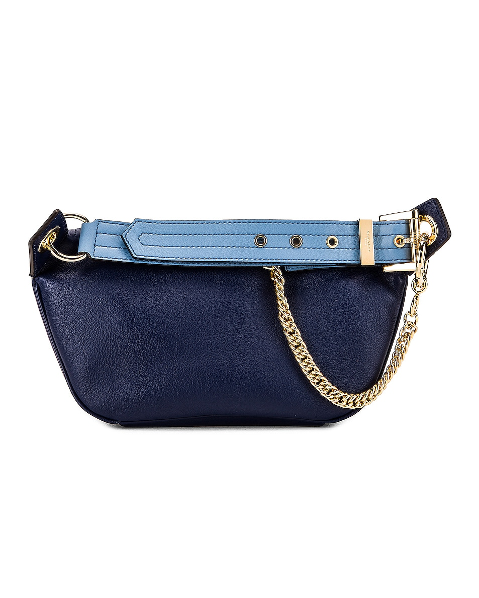 Image 3 of Givenchy Contrast Chain Whip Belt Bag in Royal Blue