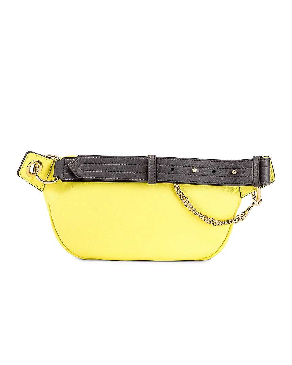 Image 3 of Givenchy Contrast Mini Whip Belt Bag in Fluo Yellow