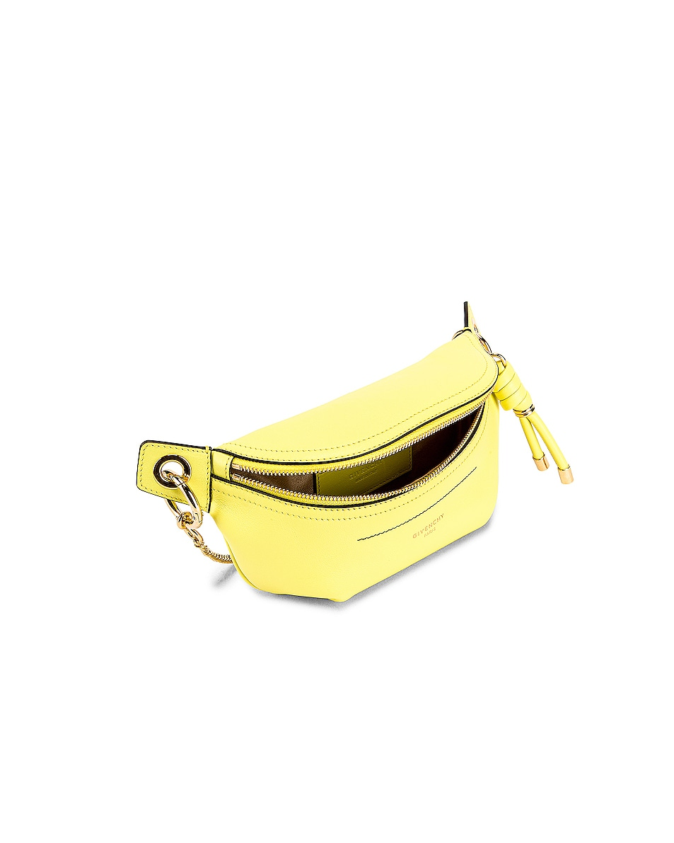 Image 5 of Givenchy Contrast Mini Whip Belt Bag in Fluo Yellow