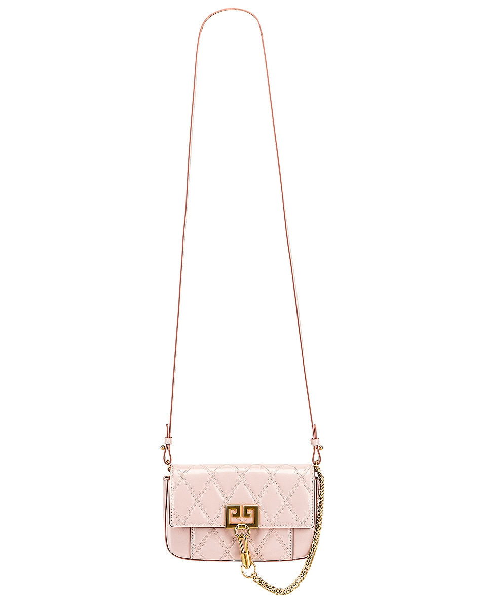Image 6 of Givenchy Mini Pocket Chain Bag in Pale Pink