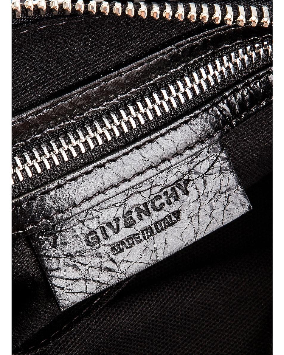 Image 5 of Givenchy Logo Band Small Pandora in Black