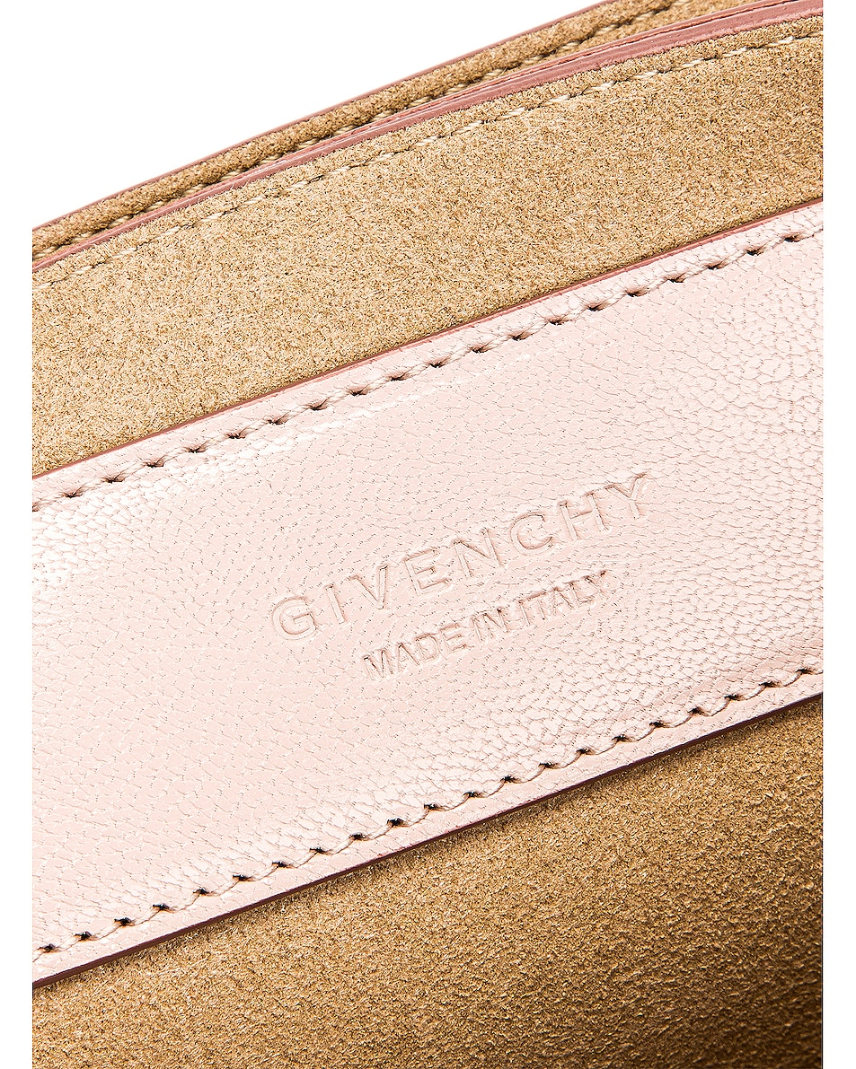 Image 7 of Givenchy Small Quilted Leather GV3 in Pale Pink