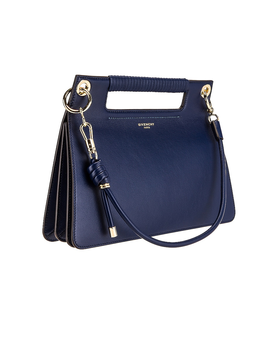 Image 4 of Givenchy Contrast Medium Whip Bag in Royal Blue