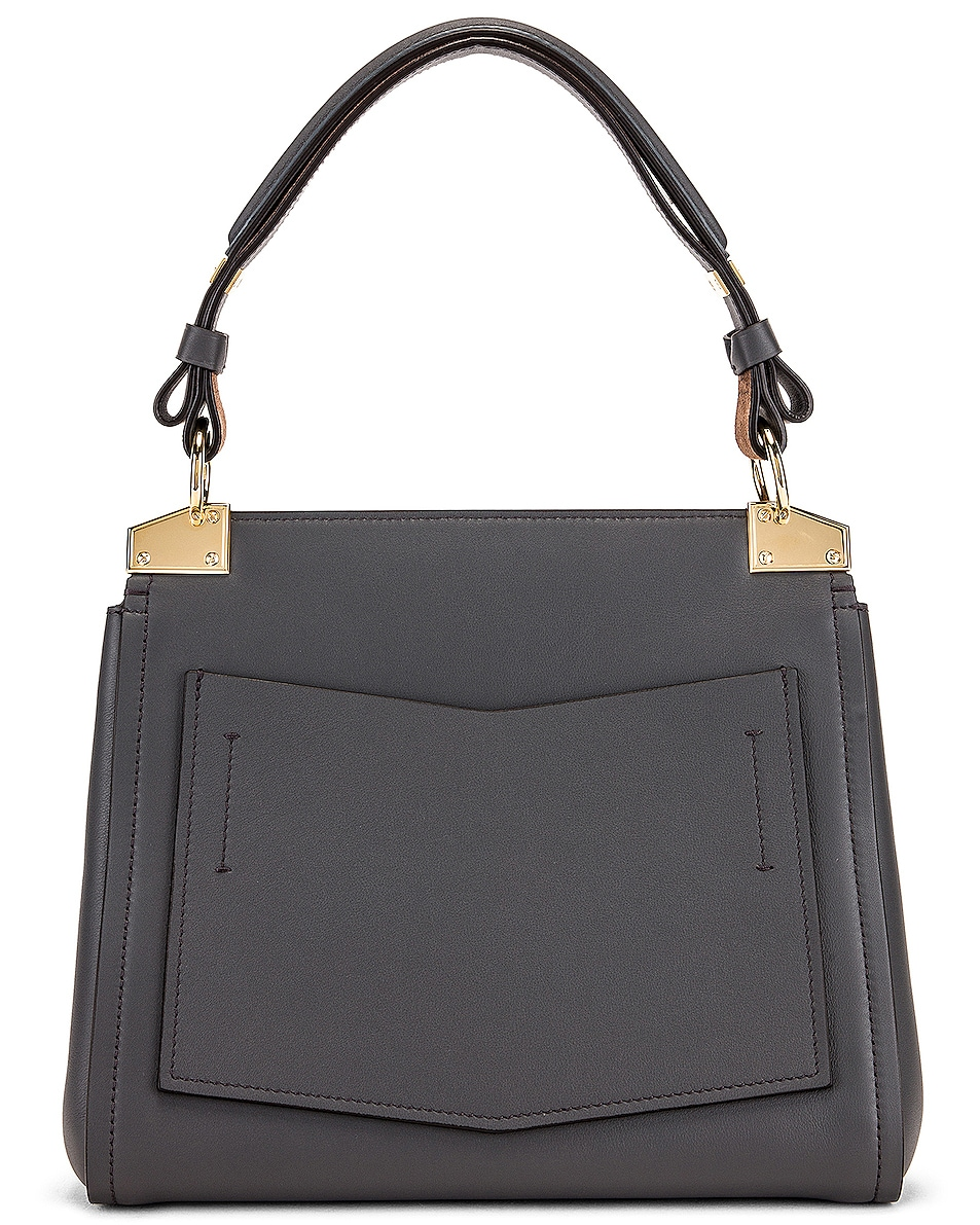 Image 3 of Givenchy Small Mystic Bag in Storm Grey