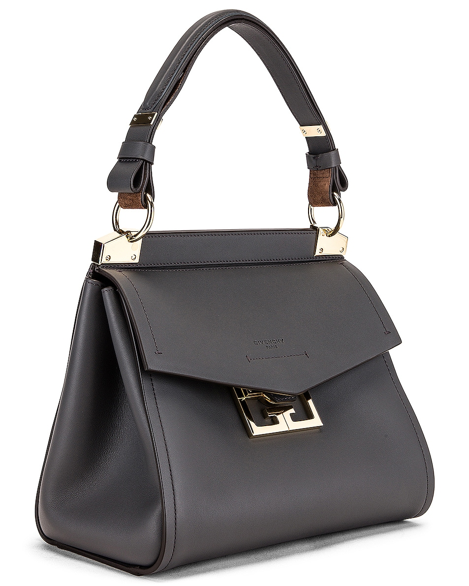 Image 4 of Givenchy Small Mystic Bag in Storm Grey