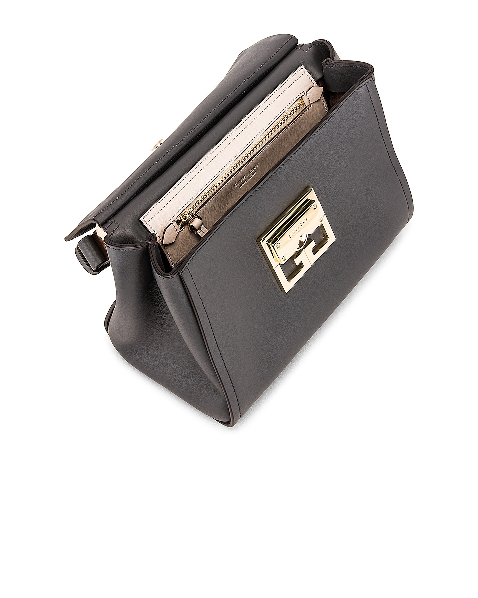 Image 5 of Givenchy Small Mystic Bag in Storm Grey