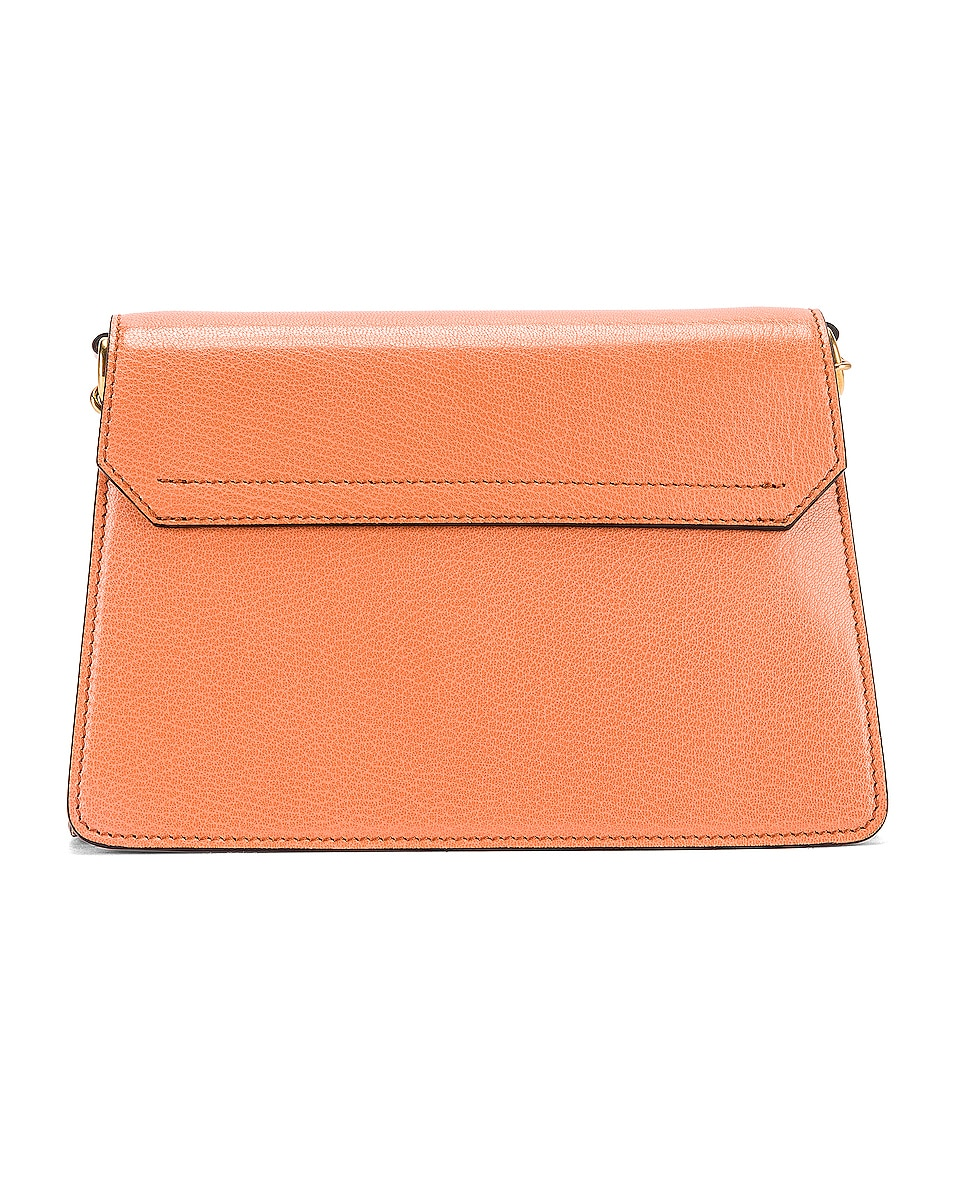Image 3 of Givenchy Small Leather GV3 in Pale Coral & Taupe