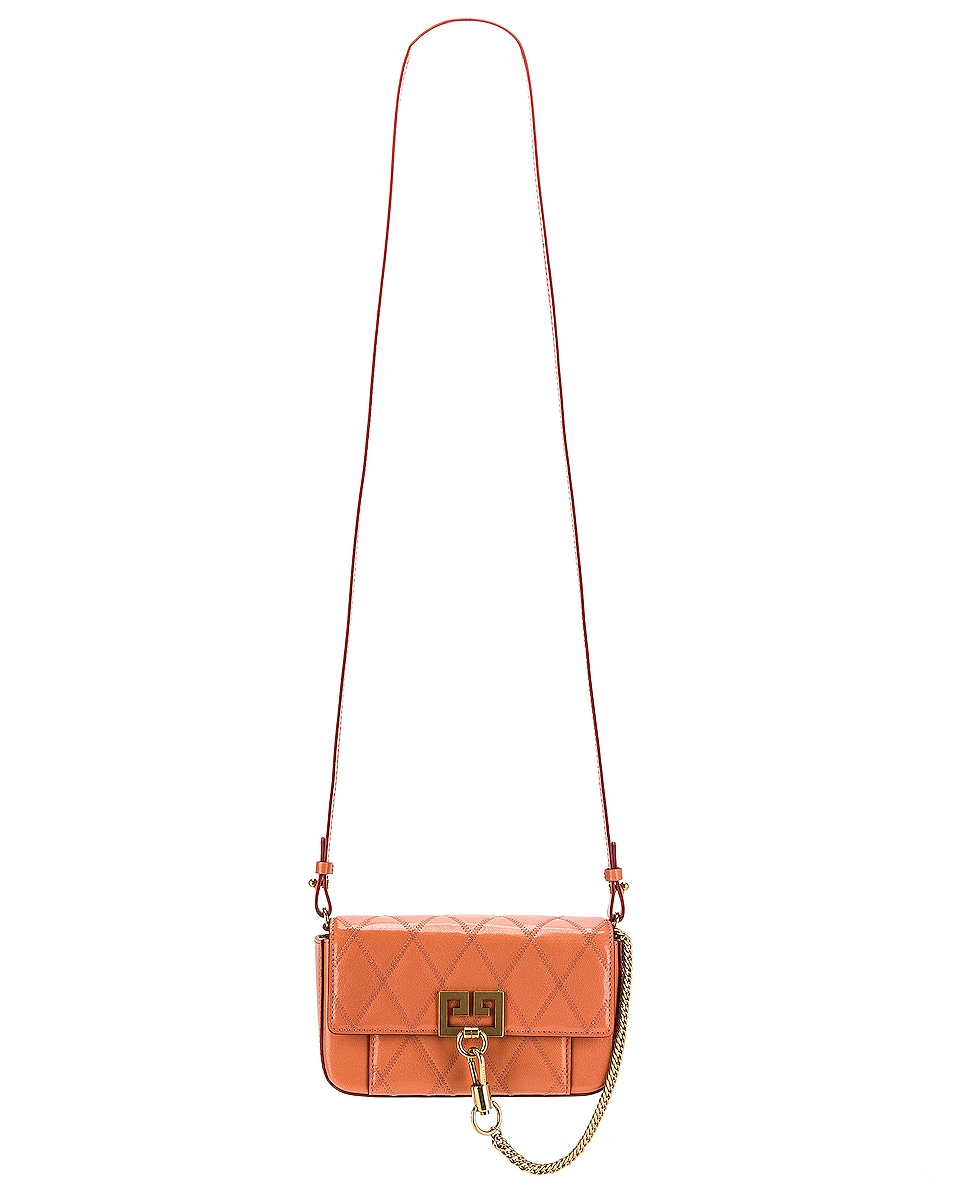 Image 6 of Givenchy Mini Pocket Chain Bag in Pale Coral