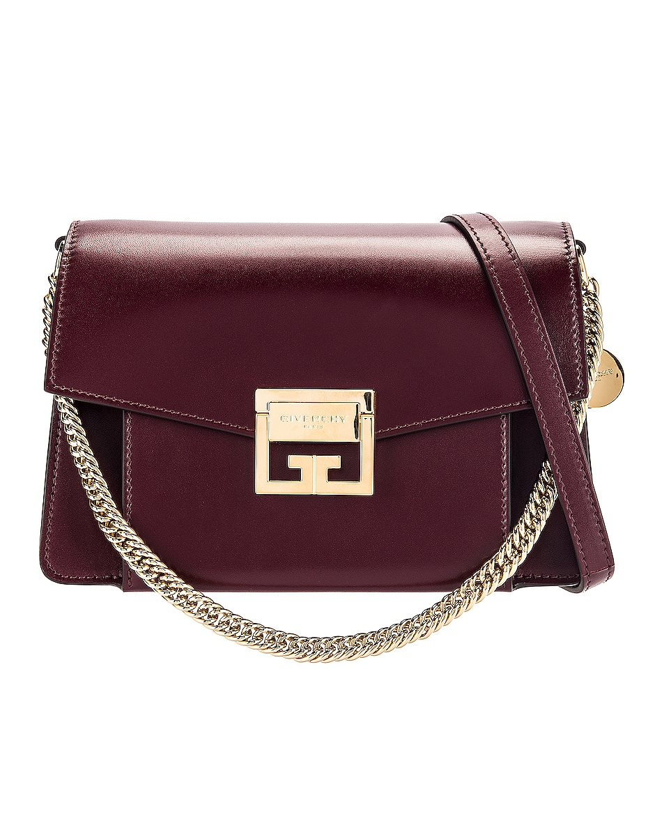 Image 1 of Givenchy Small Box GV3 in Aubergine