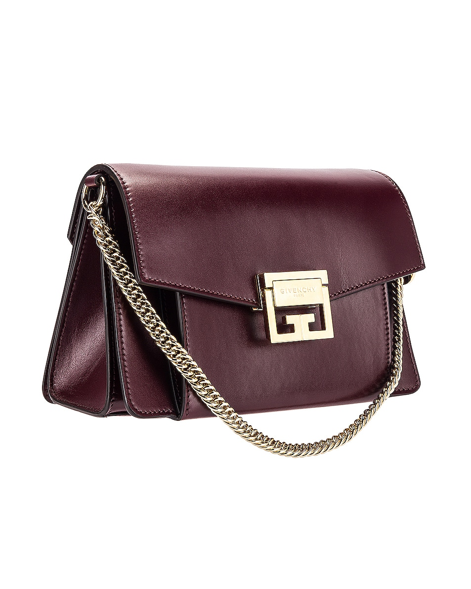 Image 4 of Givenchy Small Box GV3 in Aubergine