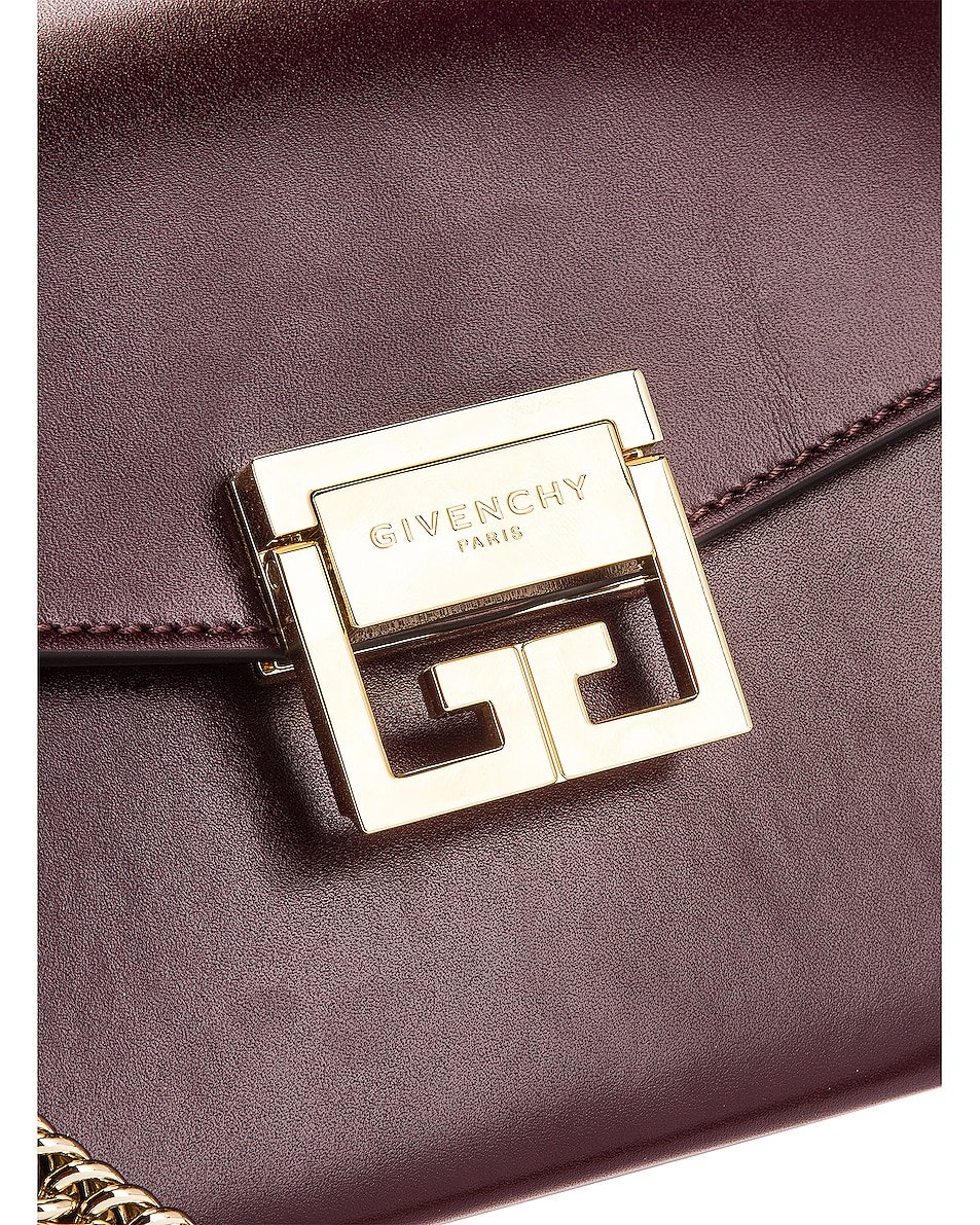 Image 8 of Givenchy Small Box GV3 in Aubergine