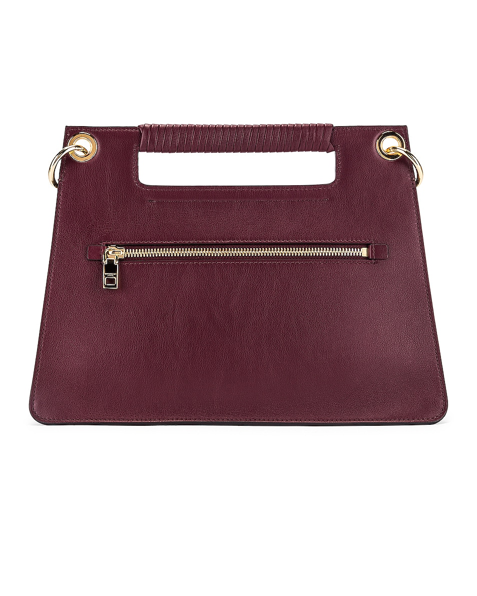Image 3 of Givenchy Contrast Medium Whip Bag in Aubergine