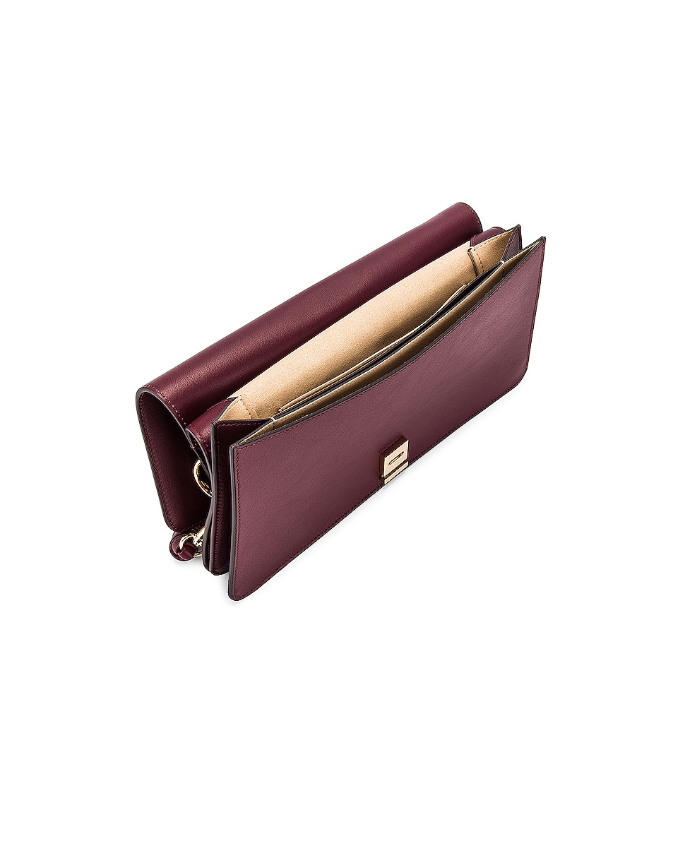 Image 5 of Givenchy Contrast Medium Whip Bag in Aubergine