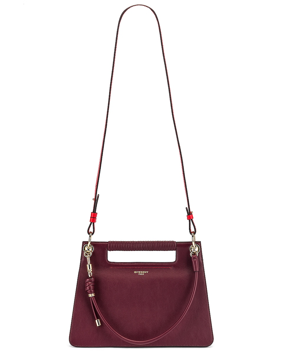 Image 6 of Givenchy Contrast Medium Whip Bag in Aubergine