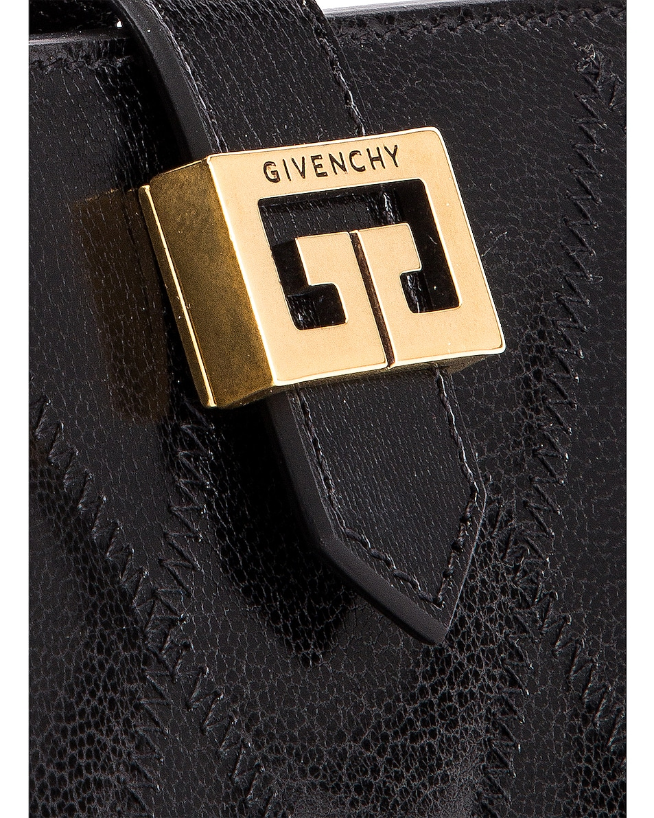 Image 6 of Givenchy Medium GV3 Bifold Wallet in Black