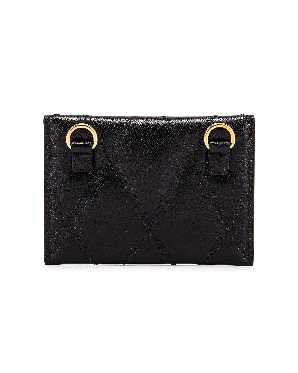 Image 3 of Givenchy Chain GV3 Card Case in Black