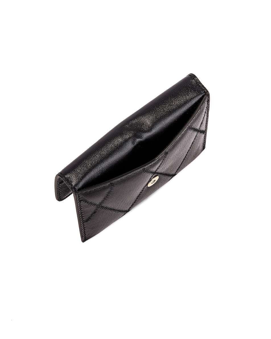 Image 5 of Givenchy Chain GV3 Card Case in Black
