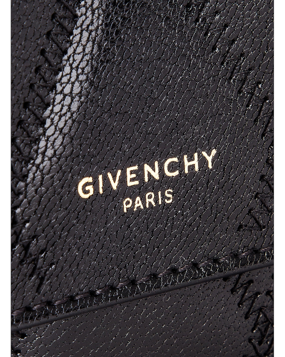 Image 7 of Givenchy Chain GV3 Card Case in Black