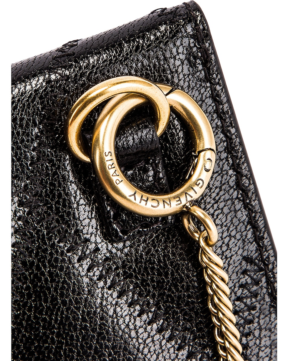 Image 8 of Givenchy Chain GV3 Card Case in Black