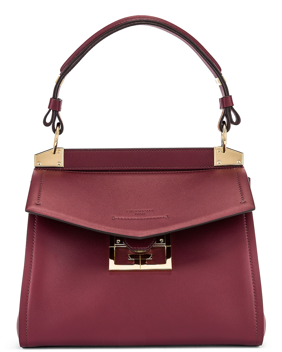 Image 1 of Givenchy Small Mystic Bag in Aubergine