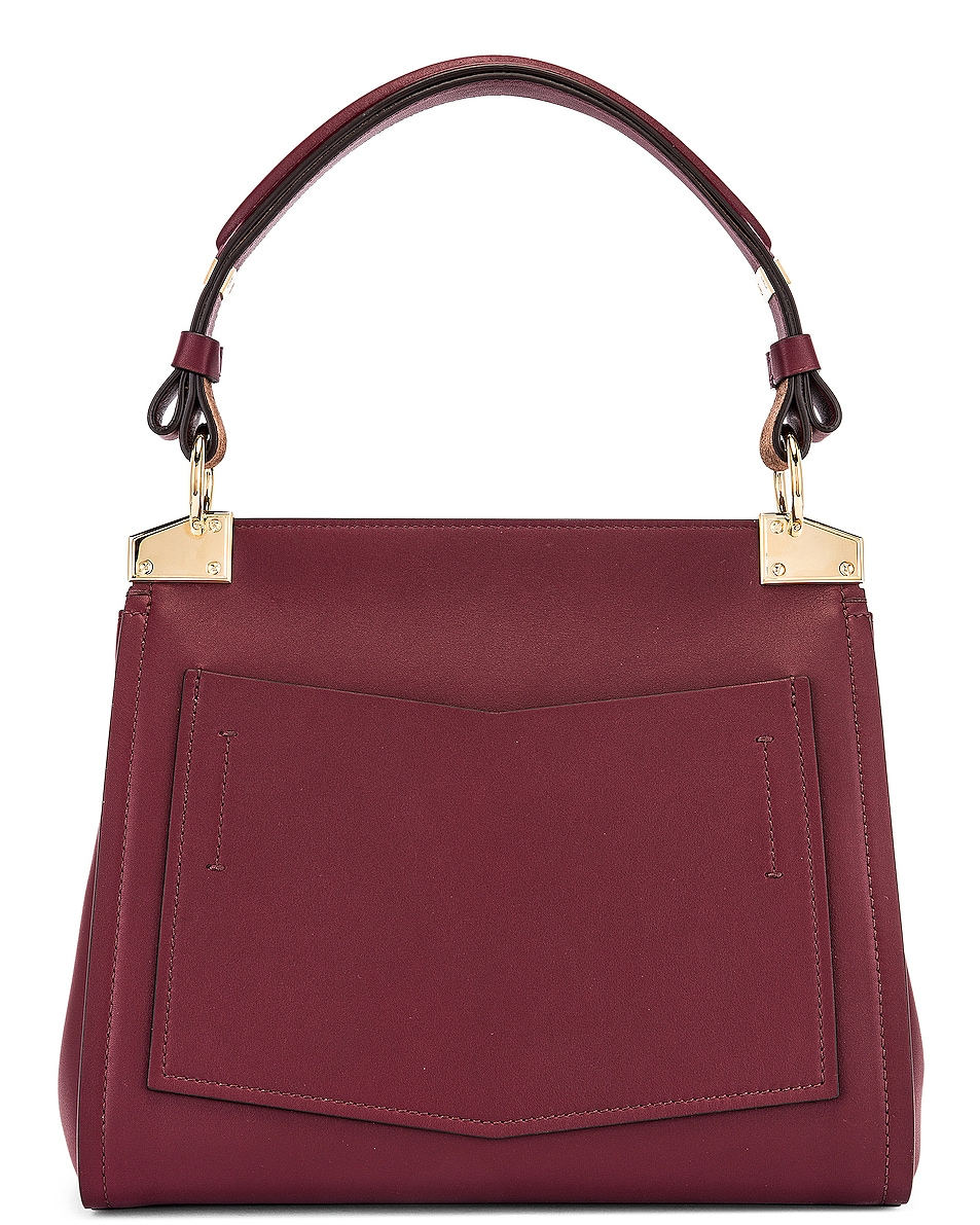 Image 2 of Givenchy Small Mystic Bag in Aubergine