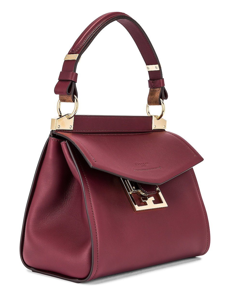 Image 3 of Givenchy Small Mystic Bag in Aubergine