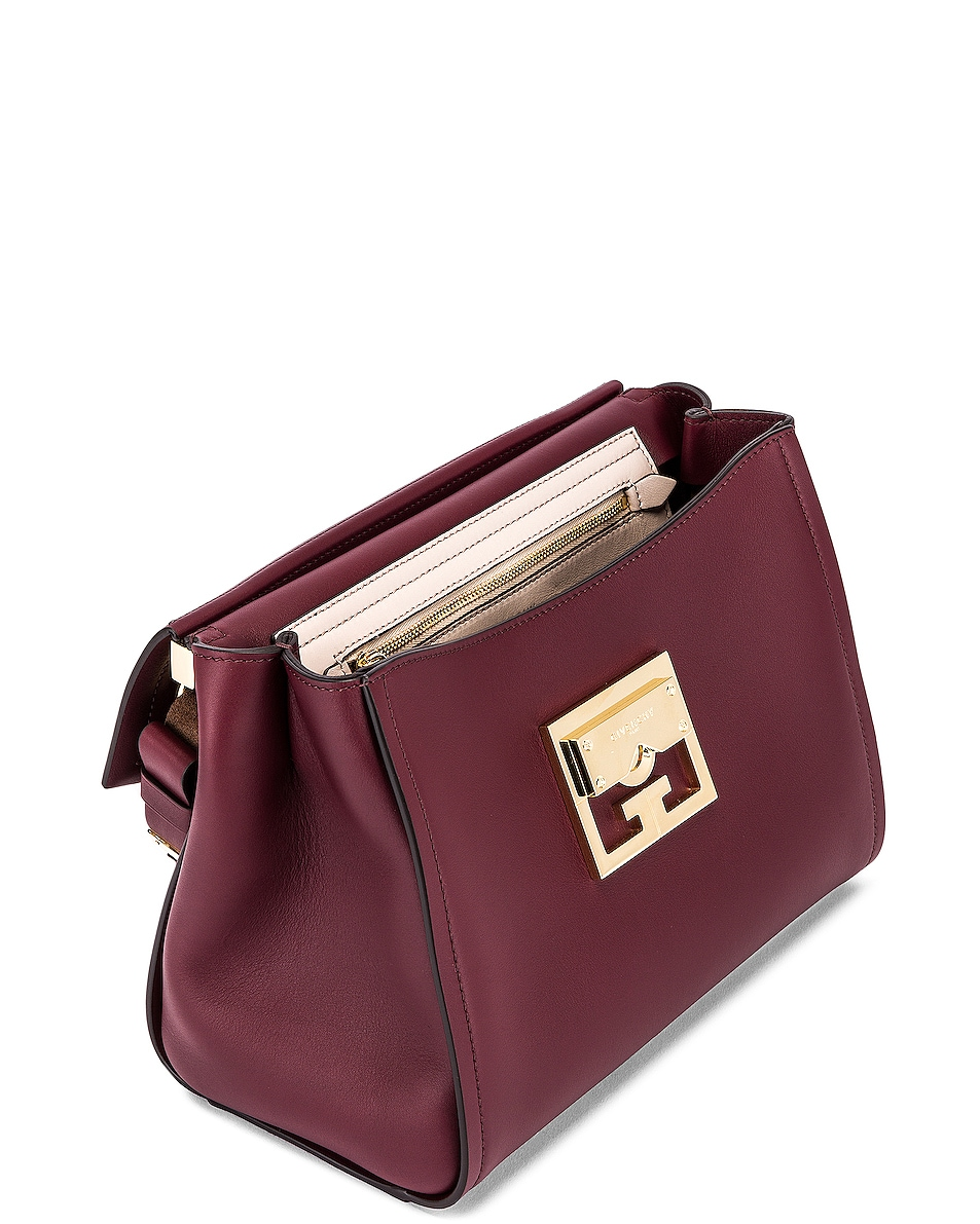 Image 4 of Givenchy Small Mystic Bag in Aubergine