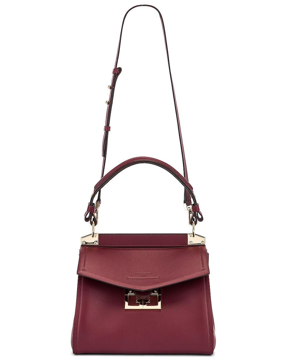Image 5 of Givenchy Small Mystic Bag in Aubergine