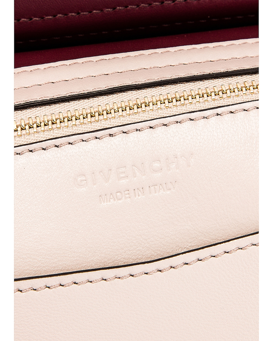 Image 6 of Givenchy Small Mystic Bag in Aubergine