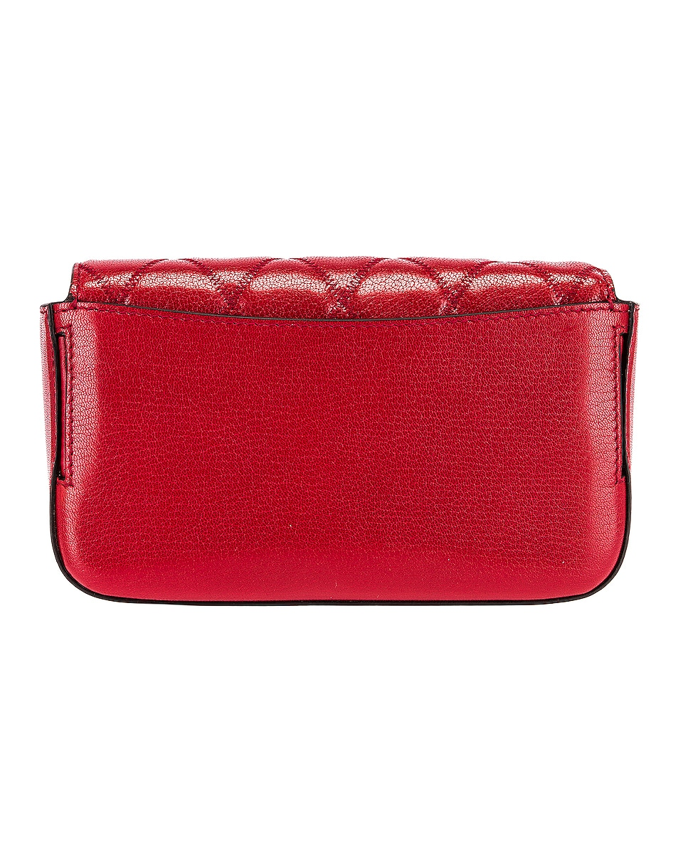 Image 3 of Givenchy Mini Pocket Chain Bag in Vermillion
