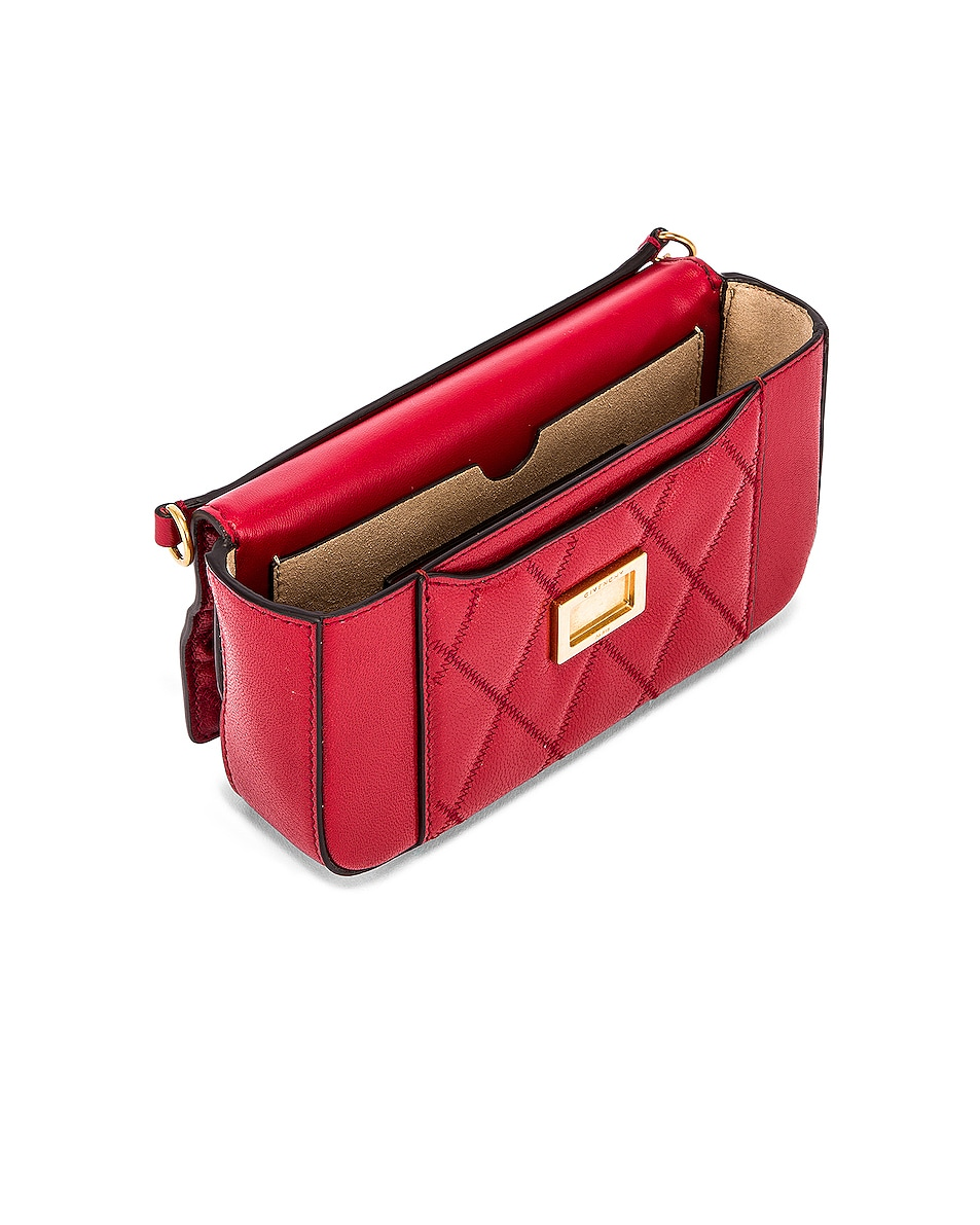 Image 5 of Givenchy Mini Pocket Chain Bag in Vermillion