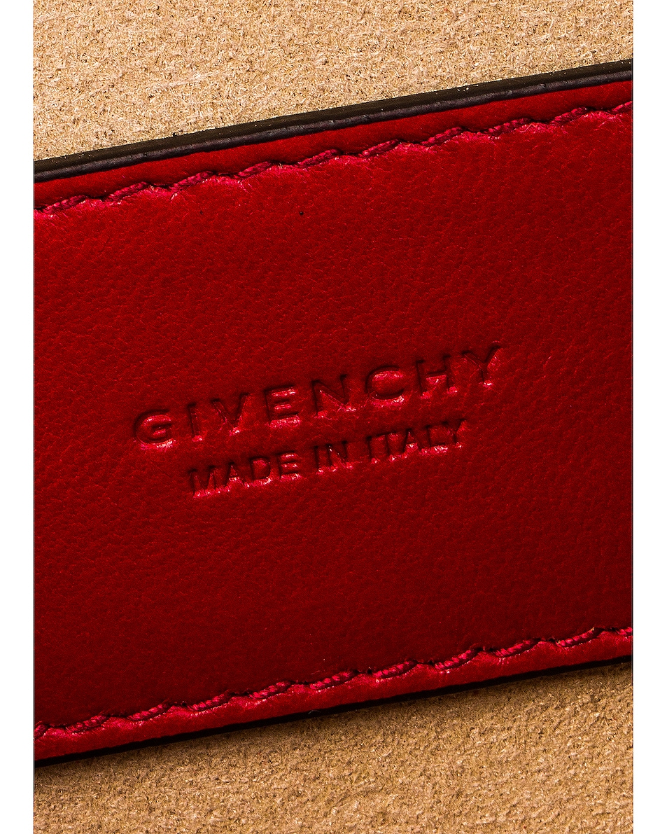 Image 7 of Givenchy Mini Pocket Chain Bag in Vermillion
