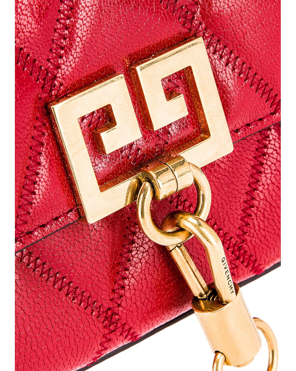 Image 8 of Givenchy Mini Pocket Chain Bag in Vermillion