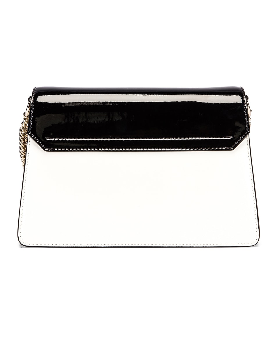Image 3 of Givenchy Small Mixed Leather GV3 in Black & White