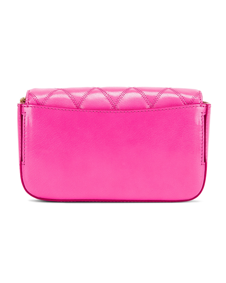 Image 3 of Givenchy Mini Pocket Quilted Leather Bag in Sorbet Pink