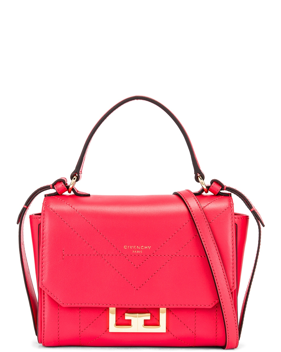 Image 1 of Givenchy Mini Eden Bag in Lipstick Pink